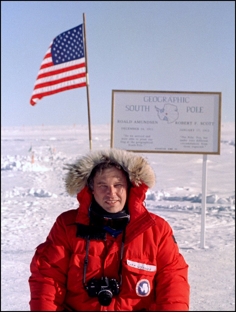 Widener at the South Pole