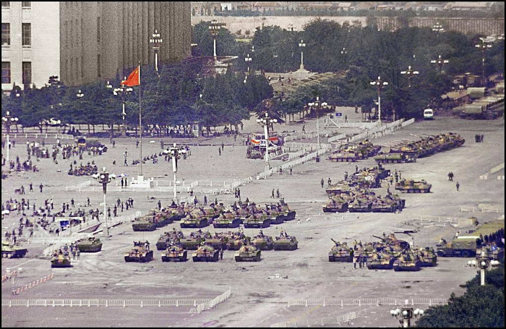 'Occupied Tiananmen Square' Bejing, China 1989
